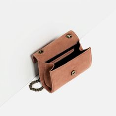 Image 7 of LEATHER CROSSBODY BAG WITH BUCKLE from Zara