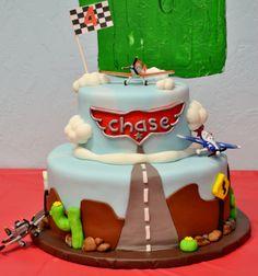 Disney Planes cake by Ashlie Pieren Goetze