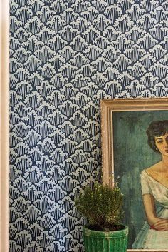 Poppytalk: New Japanese-Inspired Wallpapers from Farrow and Ball http://www.pinterest.com/livewareprob/living/