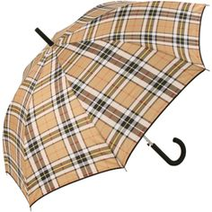 Country Check Umbrella with Black Binding, shop online at Brolliesgalore