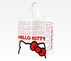 Hello Kitty Shopping Tote: Logo / $10.00