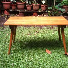 """For Sale Meet our coffee table """"STADIG"""" #midcenturymodern #midcenturyfurniture #retrodesign #retrofurniture #homedecor #midcenturytable #retrotable #mejaantik #indo #bdg #vintageinterior #retrointerior"""