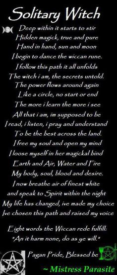 Solitary Witch...