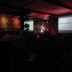 Esse talk tem o espírito do off #jfdi Que orgulho sediar esse evento e poder compartilhar esse momento com o mundo