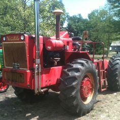 Late 1960's Versatile tractor. At ole boys toys tractor show 7/21/2012, Wabash,In