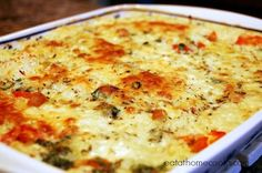 Italian Chicken and Rice Casserole a good way to use up leftover chicken or turkey.