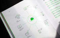 Bruch—Idee&Form gestaltete und konzipierte den neuen imagotag Produktkatalog. Der klare und technische anmutende typografische Umgang kontrastiert mit der bunten Produktbildwelt und schafft so eine spannende und lebendige Rhythmik.
