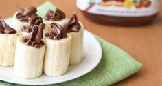 IngredientesBananas (a quantidade vai depender da quantidade de pessoas)Nutella à vontadeModo de pre... - Reprodução