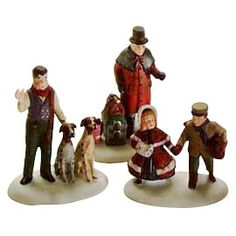 "Department 56: Products - ""Vision Of A Christmas Past"" - View Accessories"