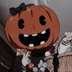 Metadinha | #metadinha #couple #anime Anime Halloween, Halloween Icons, Deidara Wallpaper, Wallpaper Animes, Animes Wallpapers, Cute Couple Wallpaper, Matching Wallpaper, Cute Anime Wallpaper, Anime Triste