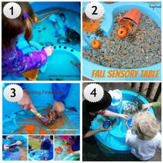 Fizzy Fun at the Water Table and a Water Table Round Up
