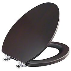 Kallista: Maplewood Slow-Close Toilet Seat, Elongated with Chrome Trim: P70334-CP $895.00