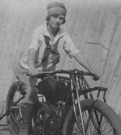 .Motorcyle babe...