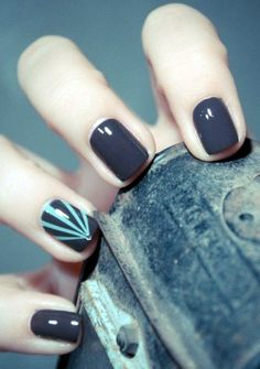 Latest 45 Easy Nail Art Designs for Short Nails 2016