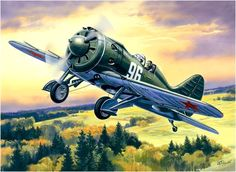Polikarpov fighter 1941 Red Air Force