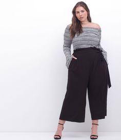 Plus size model. Plus Size Looks, Look Plus, Plus Size Model, Big Girl Fashion, Curvy Fashion, Plus Size Fashion, Curvy Outfits, Urban Outfits, Square Pants Outfit Casual
