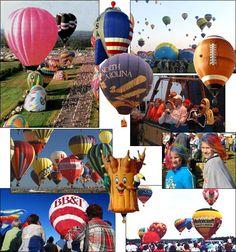 Carolina Balloon fest in October - Statesville, NC