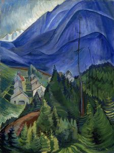 Emily Carr (Group of Seven) Emily Carr, Group Of Seven Artists, Group Of Seven Paintings, Tom Thomson, Canadian Painters, Canadian Artists, Totems, Matisse, Chaim Soutine