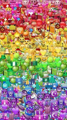 fond d'écran personnages smiley par couleur