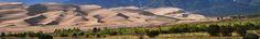 Great Sand Dunes and Sangre de Cristo Mountains, Grand Sand Dunes National Park and Preserve, Colorado