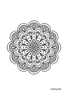 Adult Coloring Page From Colory App Pages Are Available For Lovers