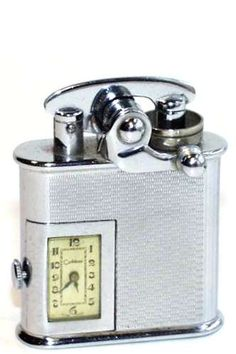 Colibri Original 'Kickstart' Lighters were produced beginning about Cool Lighters, Cigar Cases, Pipes And Cigars, Zippo Lighter, Smoking Accessories, Antique Lighting, Patent Prints, Flask, Light Up