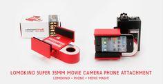 Lomokino Iphone attachment