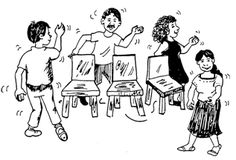 Juego de la silla: JUEGOS CON IMPOSICIÓN DE PENITENCIAS O PENAS