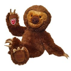 Build A Bear Workshop Adorable Plush Sloth Stuffed Animal, 17 inches Giant Stuffed Animals, Sewing Stuffed Animals, Stuffed Toys, Custom Teddy Bear, Easy Crochet Projects, Diy Projects, Best Kids Toys, Build A Bear, Baby Girl Blankets