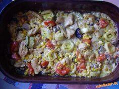 Tento recept som videla pred rokmi v telke - herečka Zdena Studenková ho pripravovala v jednej relác... Macaroni And Cheese, Food And Drink, Ethnic Recipes, Mac And Cheese