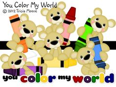 Tricia Moore Paper Piecings | Color My World | Paper Piecing Pattern for Scrapbooking | Pinterest