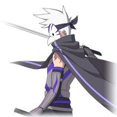 Midnight Blade (Anbu) render [Naruto OL] by on DeviantArt Sasuke Akatsuki, Kakashi Anbu, Naruto Sharingan, Naruto And Sasuke, Naruto Oc Characters, Superhero Characters, Story Characters, Oc Manga, Anime Oc