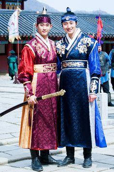 Kim Soo Hyun & Jun Il Woo in the Moon Embracing the Sun!