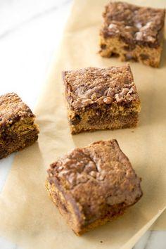 Chocolate Chip Brownie Bars  at PaulaDeen.com