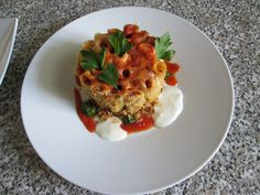 Italien    Pasta  Rigatoni  timbale   au four  !!!!!  Gino D'Aquino