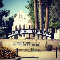 The Gilbert Historical Museum taken by Instagram user @sweeng_re.