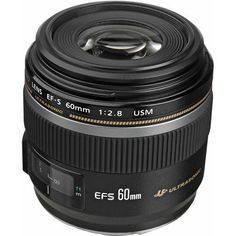 Canon EF-S 60mm f/2.8 Macro USM Lens #0284B002 - USA Model Brand New