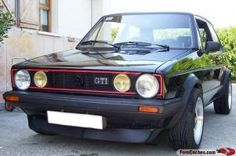 VW golf GTI mk1, one of my all time faves