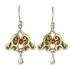 Evelyn Earrings--love these maybe with pearl drops