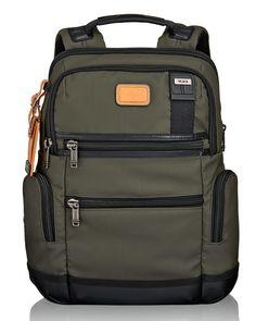 Moss Alpha Bravo Knox Backpack, Green - Tumi