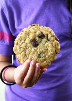 New York Times-Style Gluten Free Oatmeal Chocolate Chip Cookies - Gluten Free on a Shoestring