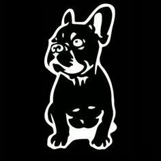 French Bulldog Car Sticker