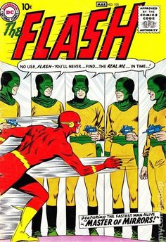 Bringing back the Flash in the Silver Age was a masterstroke. Find out the value of The Flash DC Comics issues, including Showcase Flash and more. Valuable Comic Books, Rare Comic Books, Vintage Comic Books, Vintage Comics, Comic Book Covers, Comic Books Art, Book Art, Vintage Magazines, Dc Comics