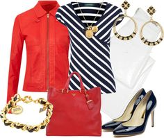 """""""red"""" by outfits-de-moda2 on Polyvore"""