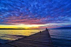 Sunset at #Ihamahu, #Saparua