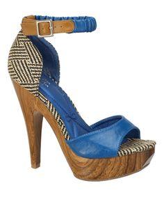 Mona Mia Blue Trinidad Pump | zulily
