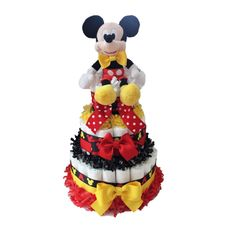 Check out our disney centerpiece baby shower selection for the very best in unique or custom, handmade pieces from our shops. Mickey Mouse Baby Shower, Baby Mickey, Baby Mouse, Mickey Party, Disney Mickey, Minnie Mouse, Disney Centerpieces, Baby Shower Centerpieces, Baby Shower Decorations