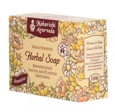 Maharishi Ayurveda is a reputed manufacturer and supplier of herbal personal care products and skin care products. Buy Jasmine herbal soap for your good skin. It has pure vegetable glycerin with special blends of Ayurvedic herbs such as Orris root, Red water lily and Mesua for individual skin types. They'll nourish and moisturize your skin as they cleanse, helping keep skin soft and glowing. #ayurveda #products #personalcare #healthcare #skincare #India