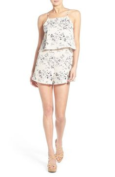Lush Print Popover Romper available at #Nordstrom