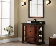 Photo Album For Website Xylem Europa in Single Bathroom Vanity with Stone Top and Optional Mirror Bathrooms Pinterest Single bathroom vanity Bathr u